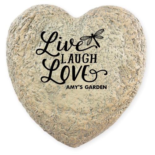 Live Laugh Love Garden Stone