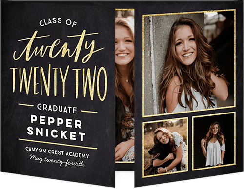 Eccentric Year Graduation Announcement By Stacy Claire Boyd