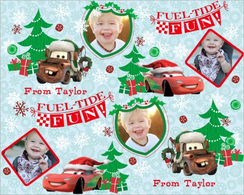 Disney Cars Mcqueen And Mater Gift Wrap