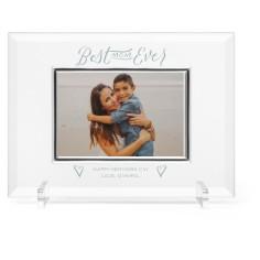best mom ever glass frame