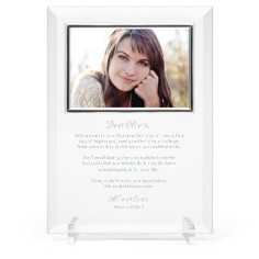 mindful note glass frame