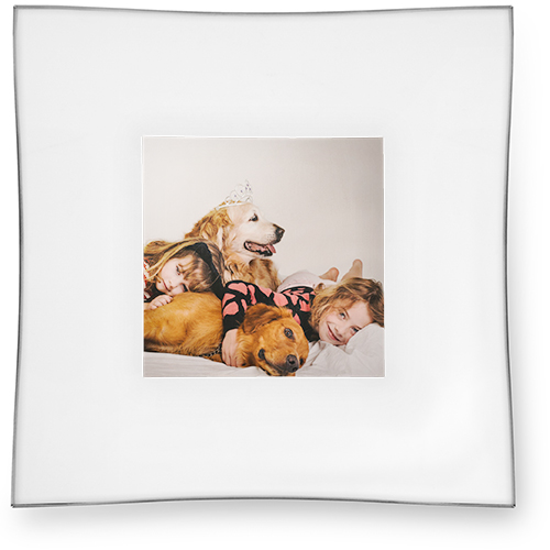 Photo Gallery Catch All Tray, 6x6, Multicolor
