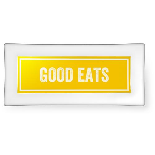 Keep It Simple Glass Plate