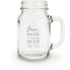 happily ever after mason jar