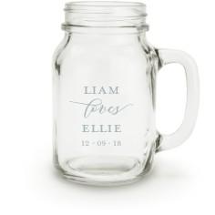 big day mason jar