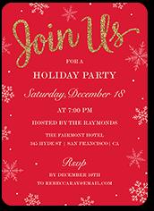 Whimsy Holiday Invitations Holiday Party Invitations Shutterfly