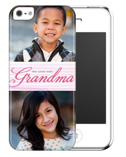 Classic Grandma iPhone Case, Slim case, Matte, iPhone 5/5S, Pink