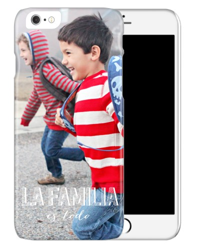La Familia Es Todo iPhone Case, Slim case, Glossy, iPhone 6, White