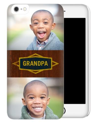 Classic Grandpa iPhone Case, Slim case, Matte, iPhone 6 Plus, Brown