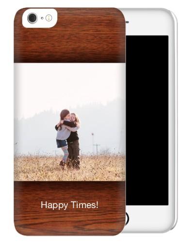 Woodgrain iPhone Case, Slim case, Glossy, iPhone 6 Plus, Brown