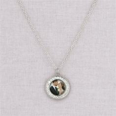 silver megan necklace