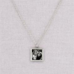 silver lauren necklace