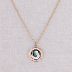 rose gold lillian necklace