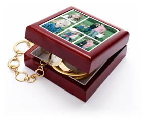 gallery of five keepsake box