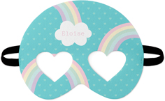 emoji rainbows kids mask
