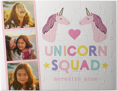 emoji rainbow unicorns kids puzzle