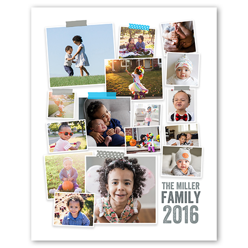 Photography Calendar Printing : Washi tape collage shutterfly