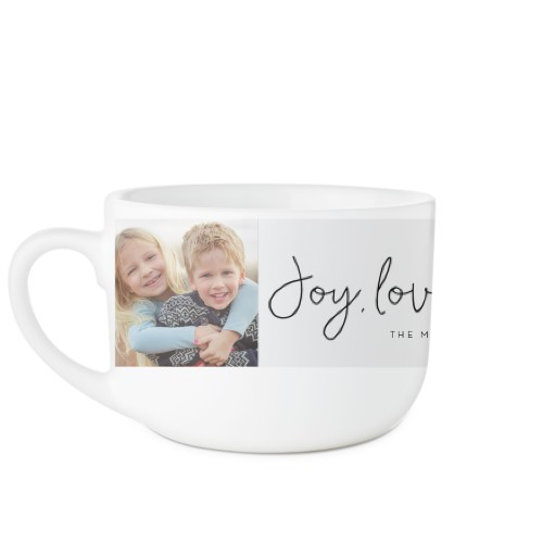 Joy Love Laughter Latte Mug