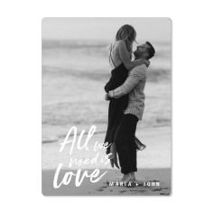 all we need is love magnet