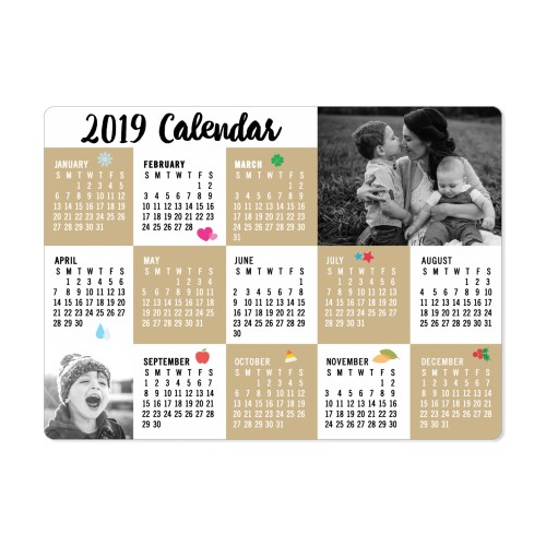 Craft Calendar Magnet