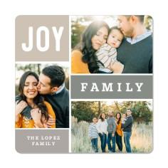 6 Personalized Photo Magnets