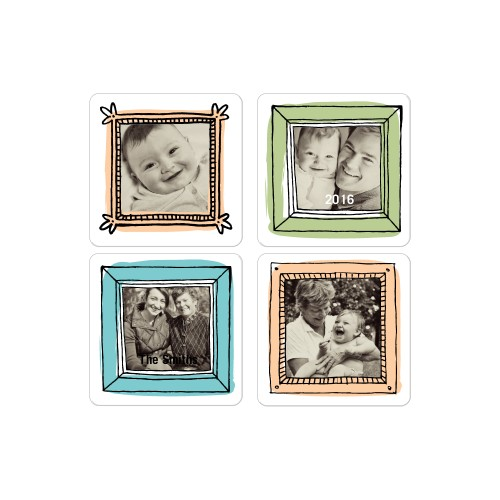 9 Customized 2x2 Photo Magnets (various)