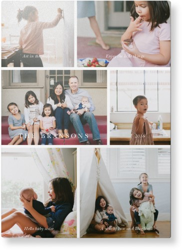 Gallery Montage of Memories Metal Wall Art, Single piece, 10 x 14 inches, True Color / Glossy, ...