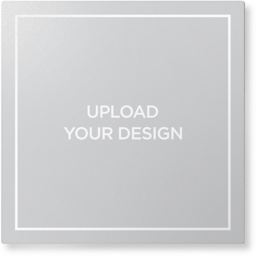 Upload Your Own Design Metal Wall Art, Single piece, 12 x 12 inches, True Color / Glossy, ...