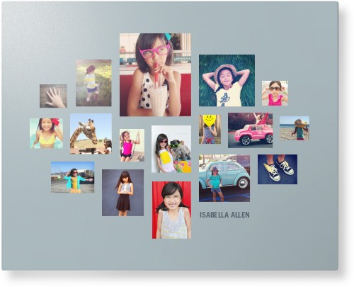 Gallery Collage of Seventeen Metal Wall Art, Single piece, 16 x 20 inches, True Color / Glossy, ...