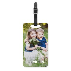 photo gallery luggage tag