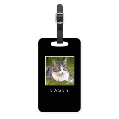 pets gallery of one luggage tag