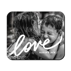 Love Overlay Mouse Pad