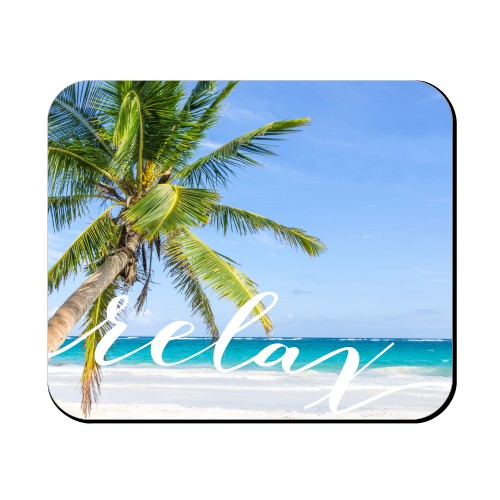 Time To Relax Mouse Pad
