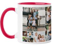 gallery collage mug