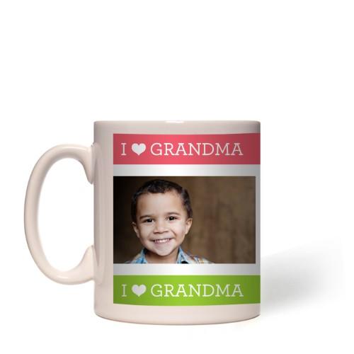 I Heart Grandma Mug