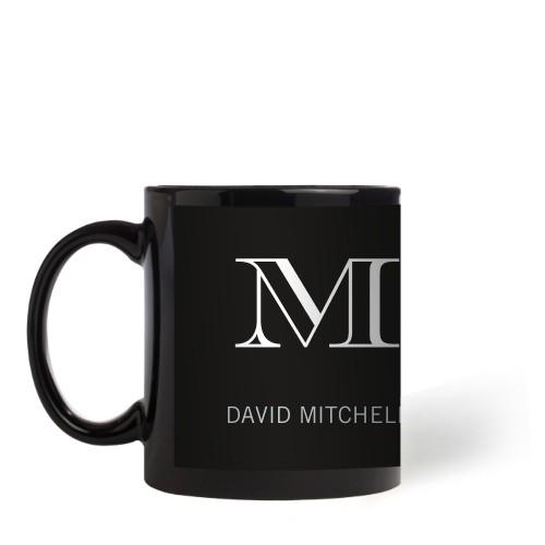 Monogram Black Mug