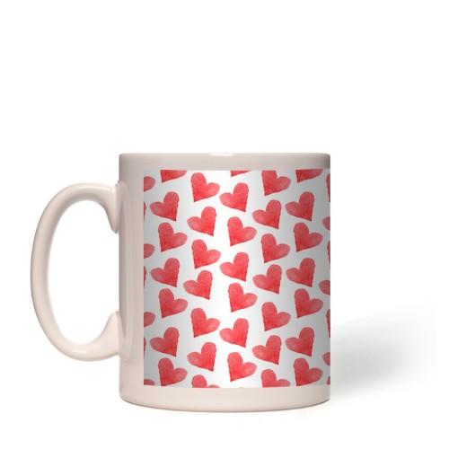 All Over Hearts Mug