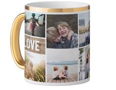 textured frames mug