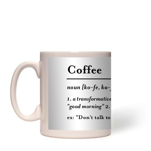 Word Definition Mug