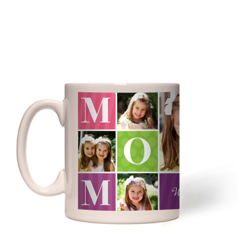 Mom Color Blocks Mug