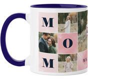 mom color blocks mug