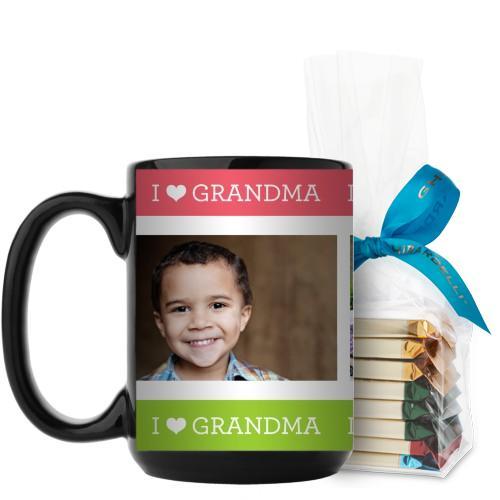 I Heart Grandma Mug Pink