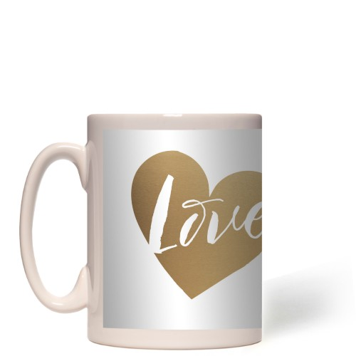 Brushed Moments Love Script Mug