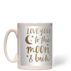 bokeh to the moon mug