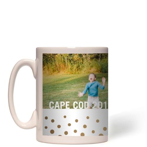 Organic Dots Border Mug