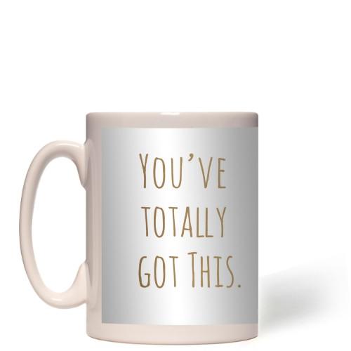 Circle Sentiment You've Got This Mug