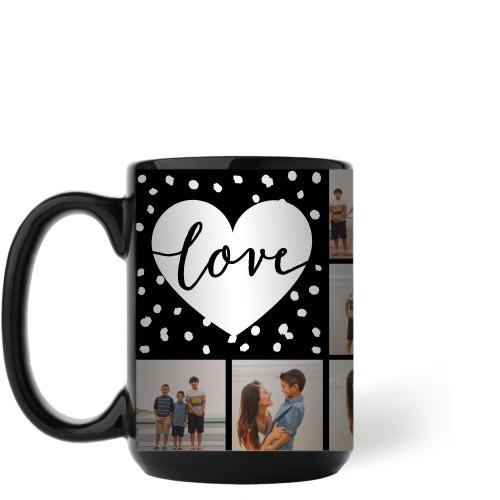 Love Script Grid Mug