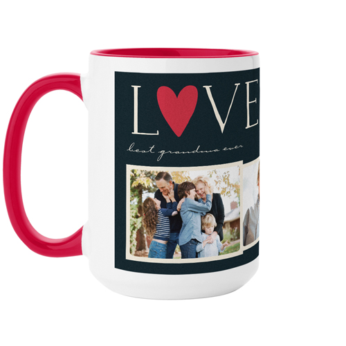 Love Collage Mug