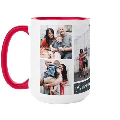 Family Faith Love Mug