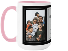 husband dad hero mug
